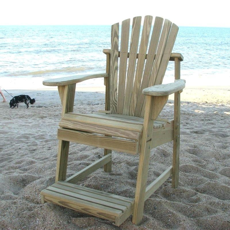 Free Tall Adirondack Chair Plans & Templates