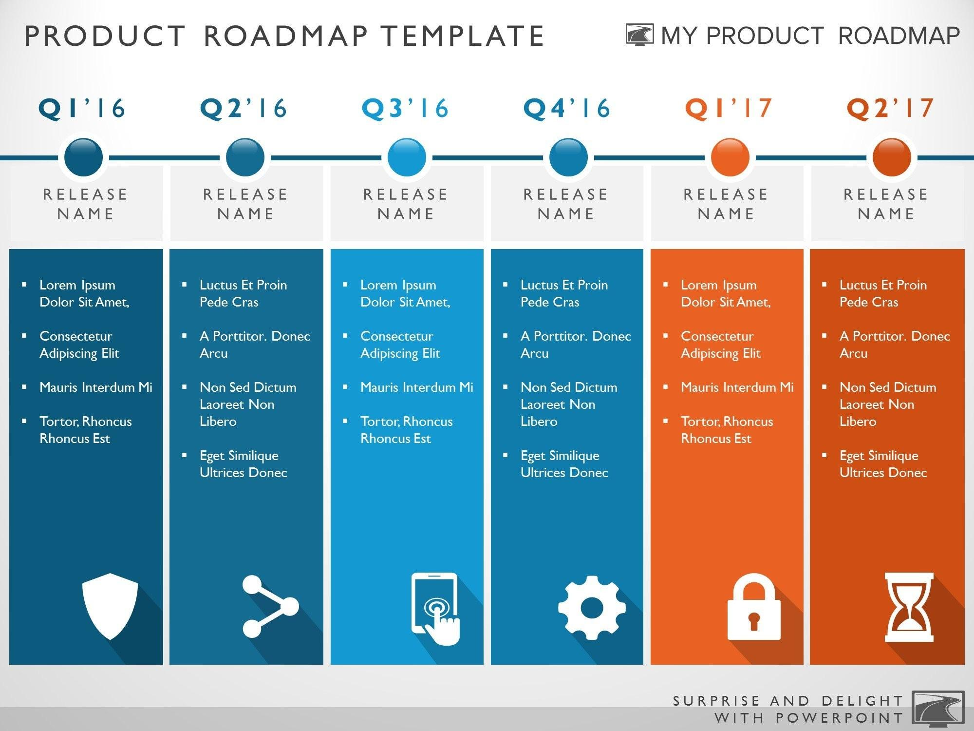 Free Technology Roadmap Templates