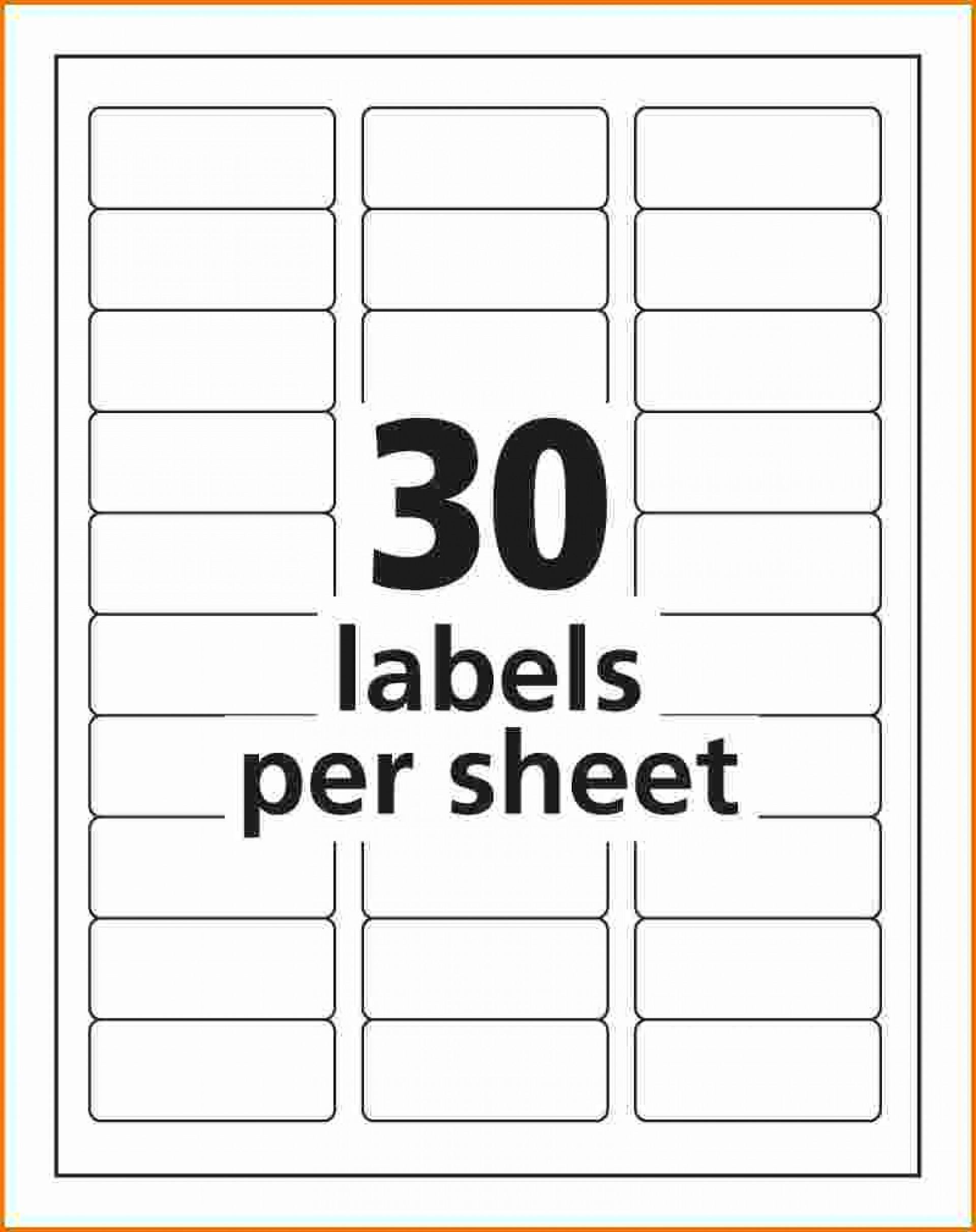 Free Template For Address Labels 20 Per Sheet