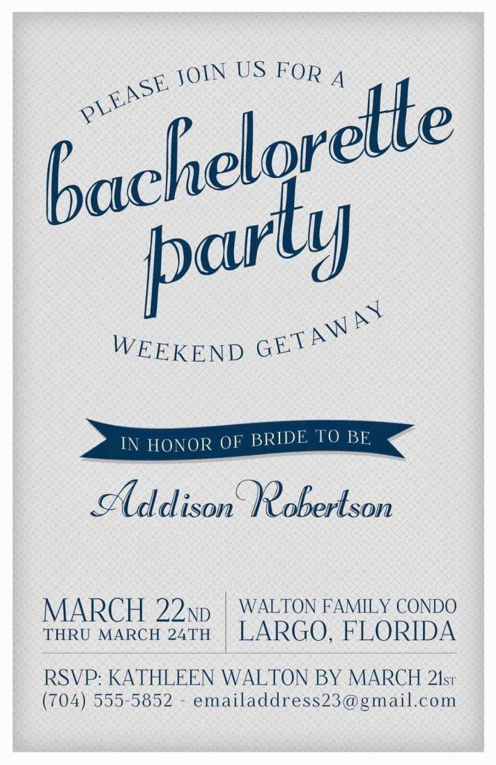 Free Template For Bachelorette Party Invitations