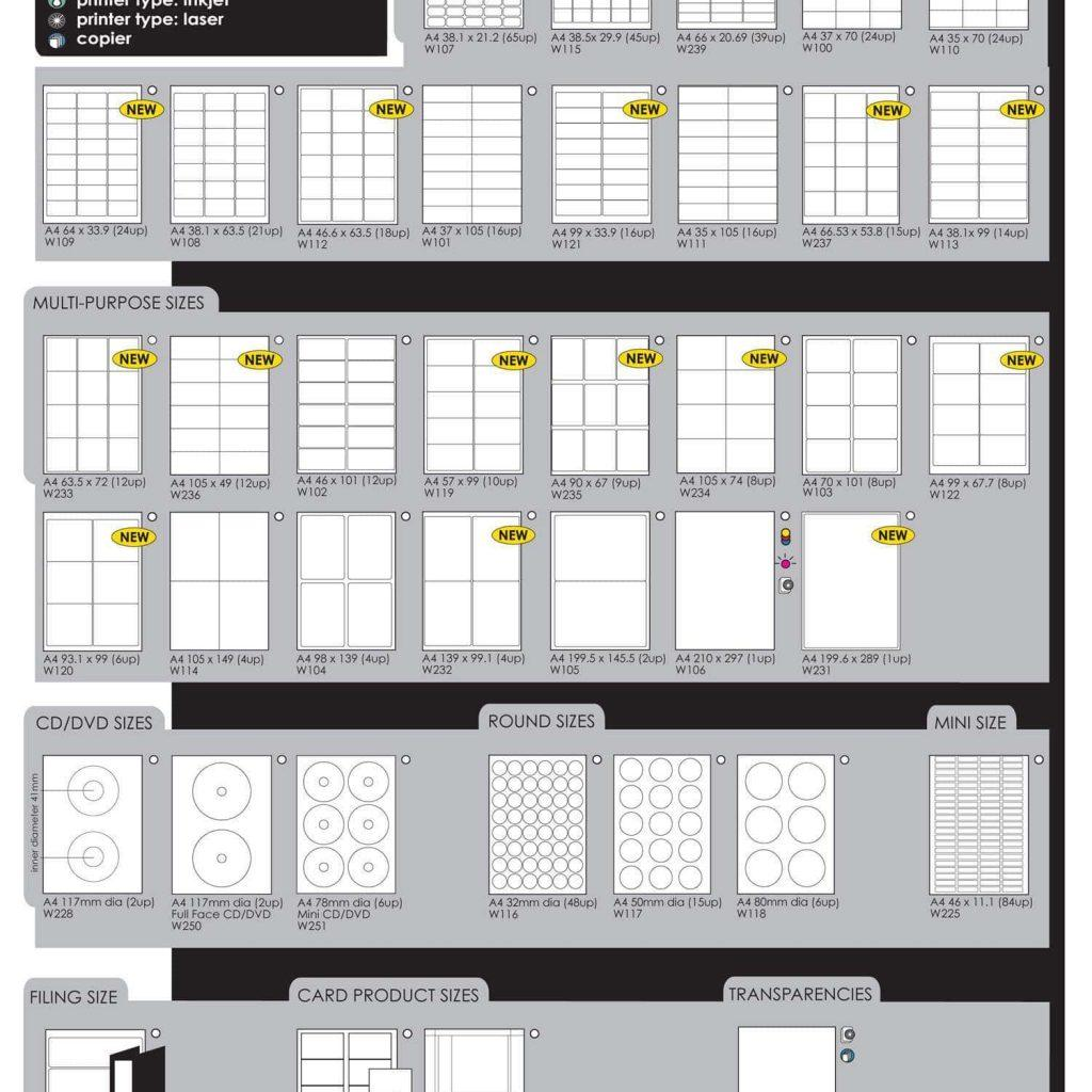 Free Template For Labels 4 Per Sheet