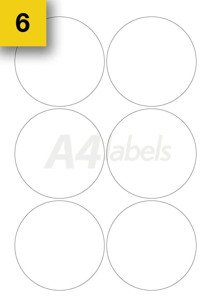 Free Template For Labels 6 Per Sheet