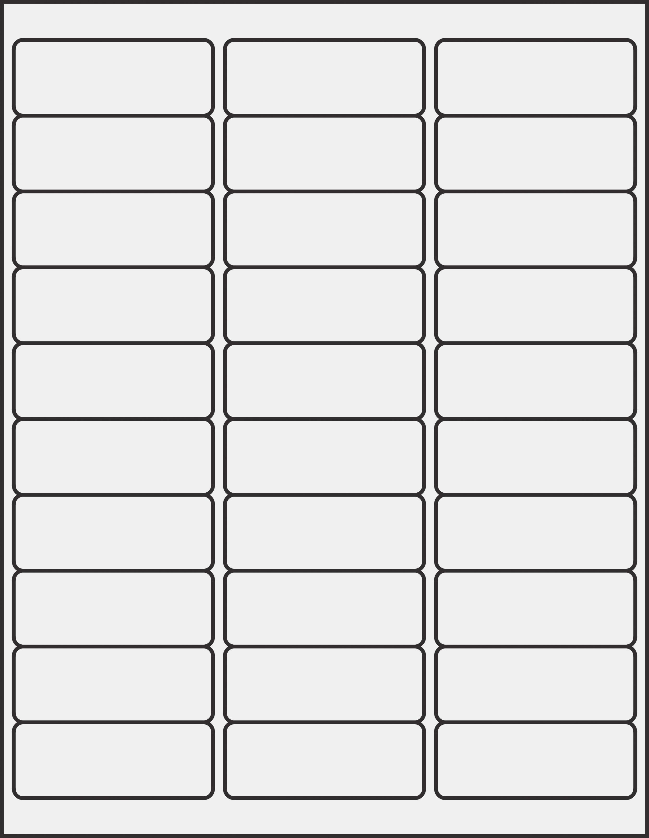 Free Template For Mailing Labels