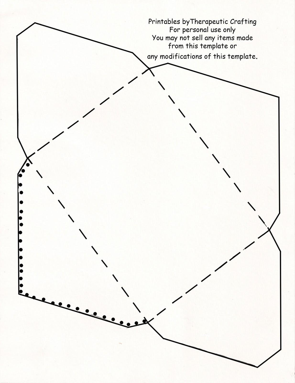 Free Template For Printing Envelopes