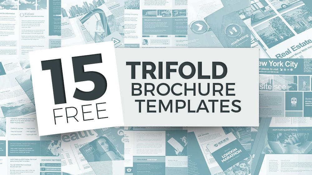 Free Templates For Brochures Tri Fold