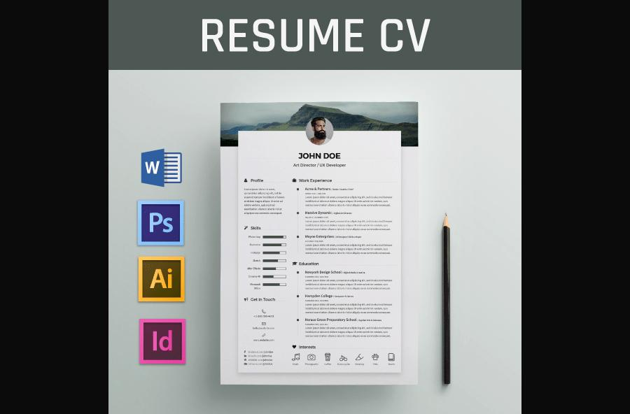Free Templates For Word Resume