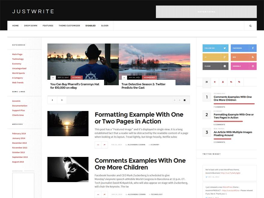 Free Templates For WordPress Download
