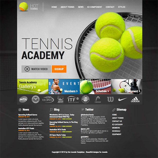 Free Tennis Flyer Template