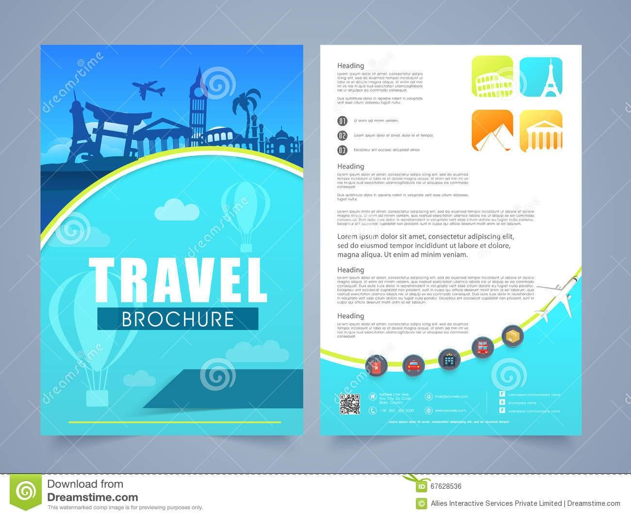 Free Travel And Tourism Flyer Templates