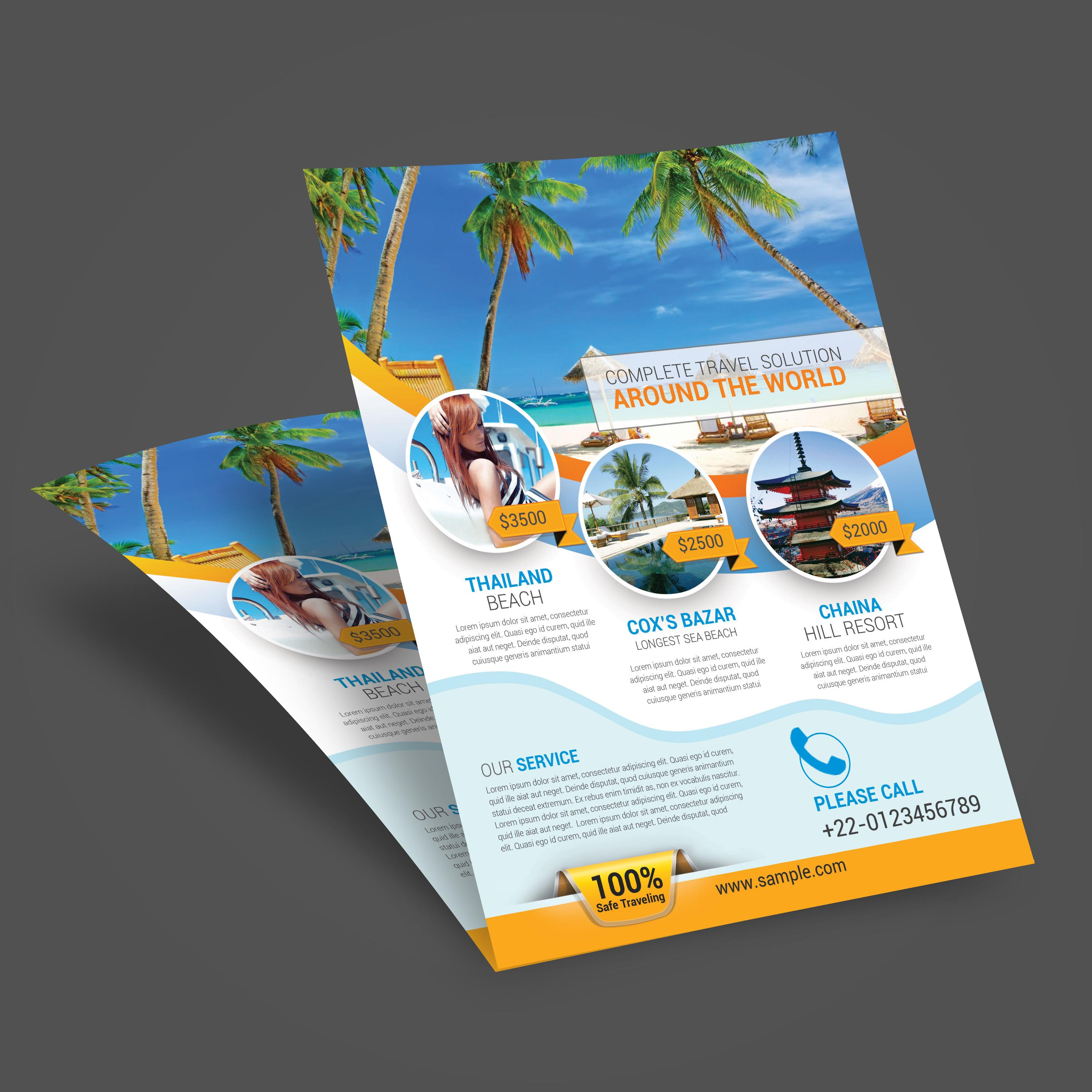 Free Travel Flyer Templates