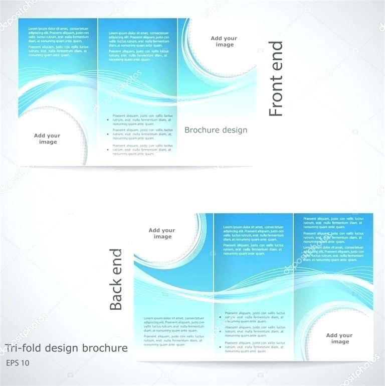 Free Tri Fold Brochure Template Word 2003