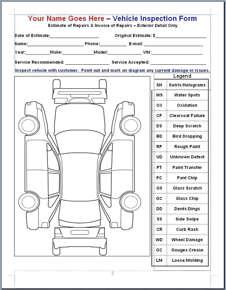 Free Vehicle Maintenance Checklist Template