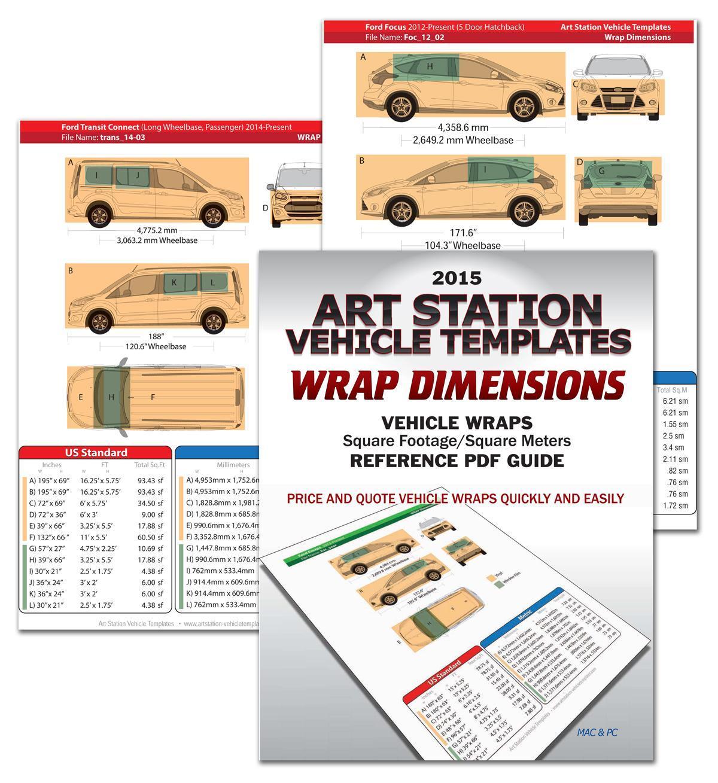 Free Vehicle Wrap Templates Illustrator