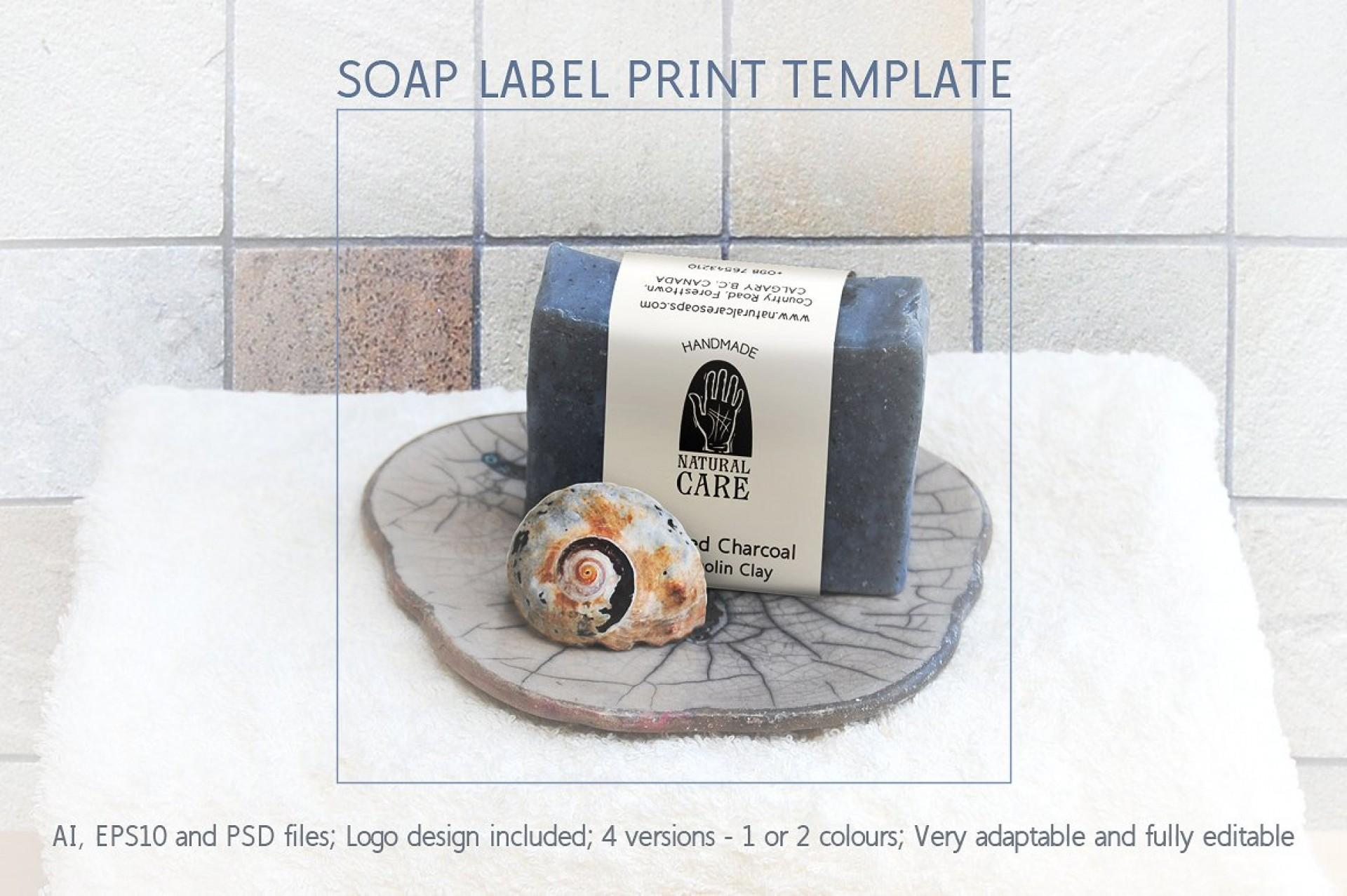 Free Vintage Soap Label Templates