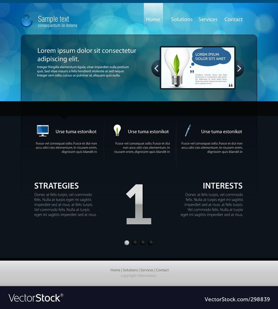 Free Web Page Layout