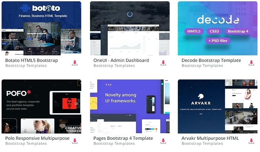 Free Webshop Css Templates