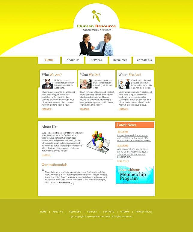 Free Website Templates For Microsoft Frontpage 2003