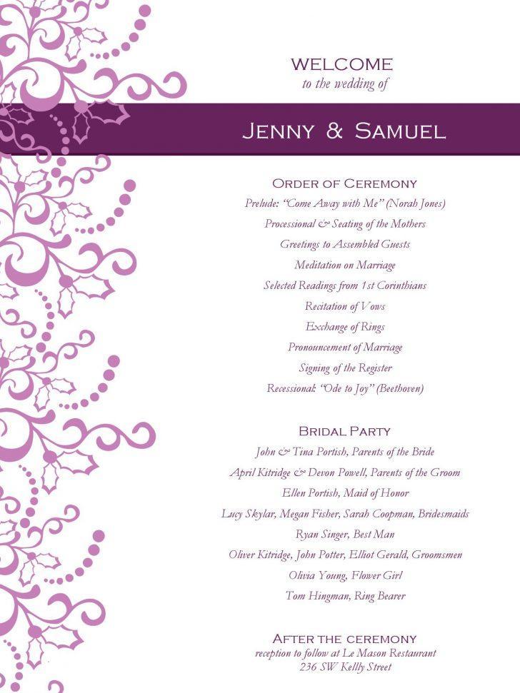 Free Wedding Invitation Templates For Microsoft Publisher
