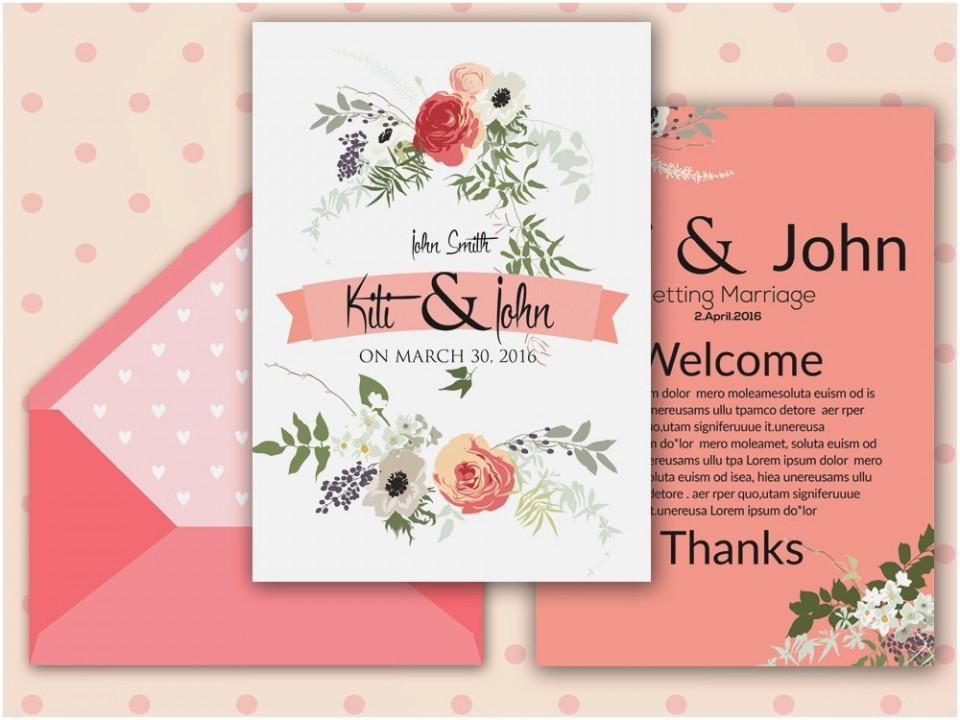 Free Wedding Invitation Templates For Word 2018