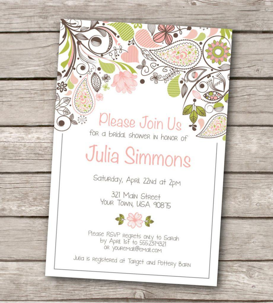 Free Wedding Invitation Templates For Word Uk