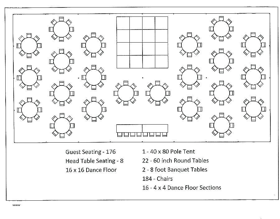 Free Wedding Reception Seating Plan Template