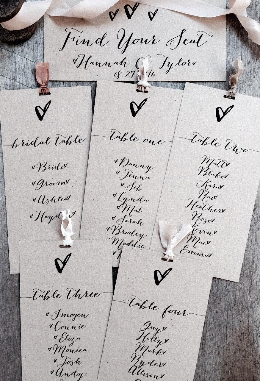 Free Wedding Seating Chart Maker