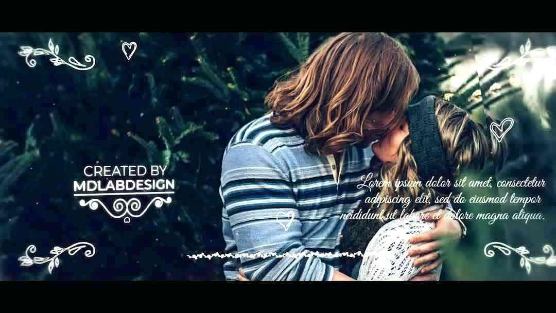 Free Wedding Slideshow Templates After Effects