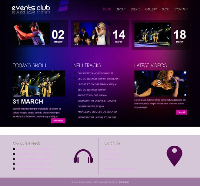 Free Wedding Venue Website Templates