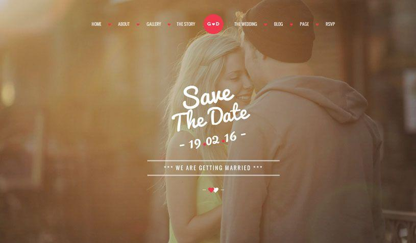 Free Wedding Website Templates Html5