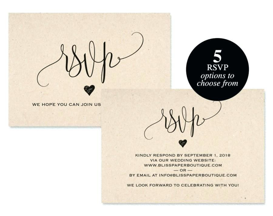 Free Wedding Website Templates With Rsvp