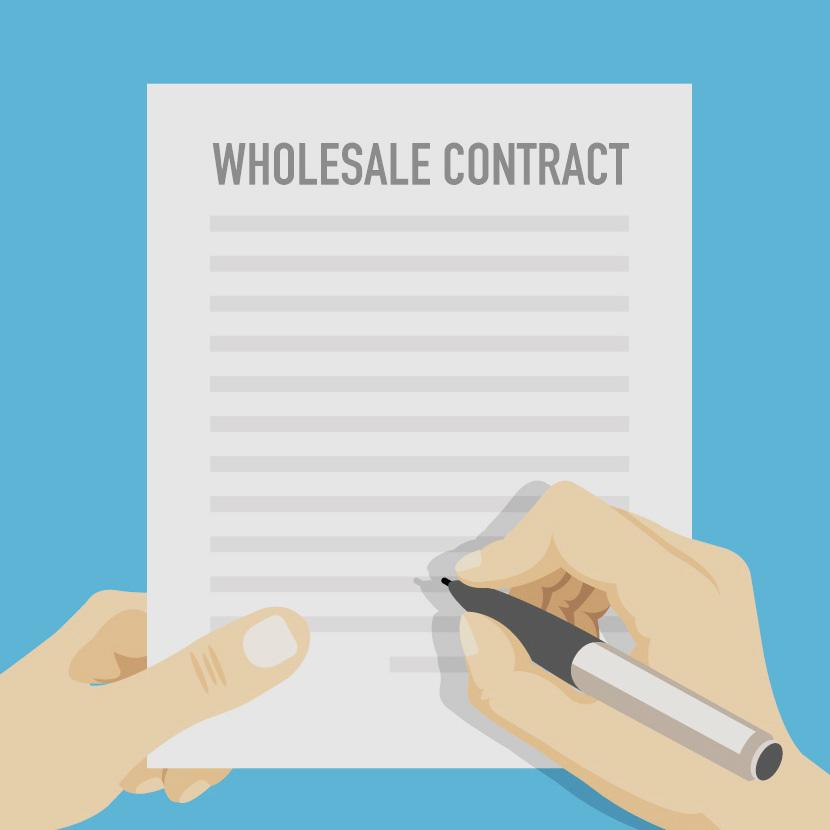 Free Wholesale Contract Template