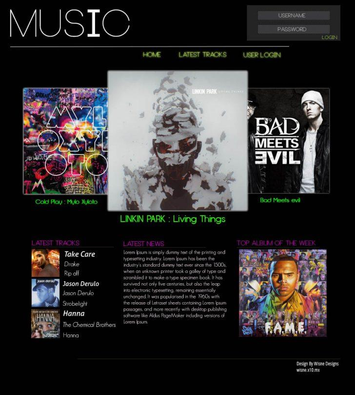 Free WordPress Themes For Musicians 2017