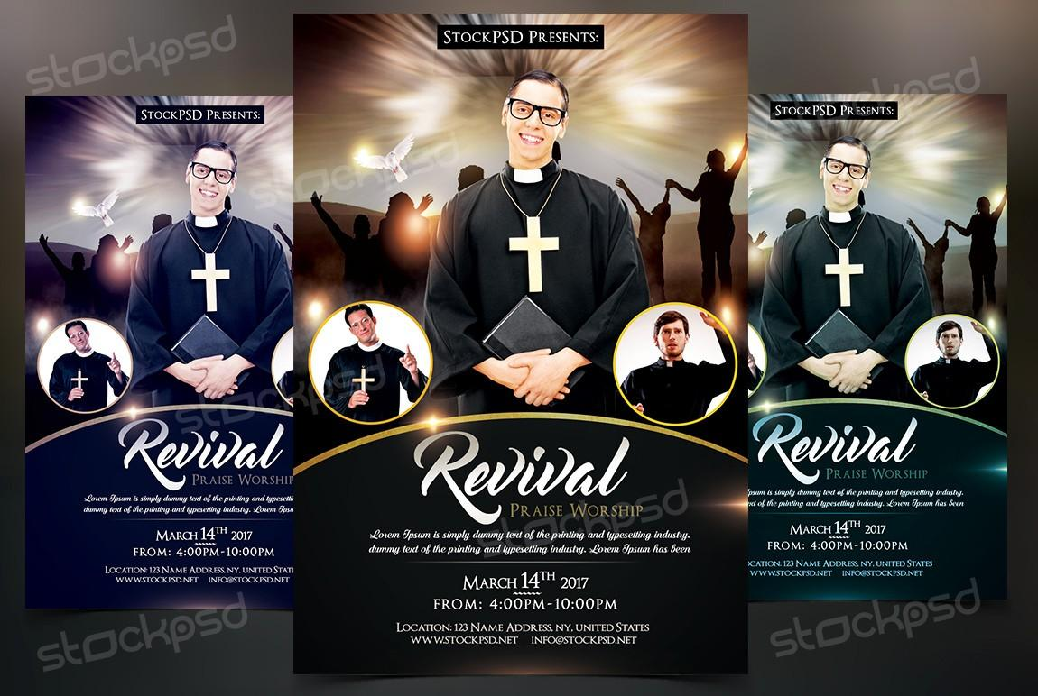 Free Youth Church Flyers Templates