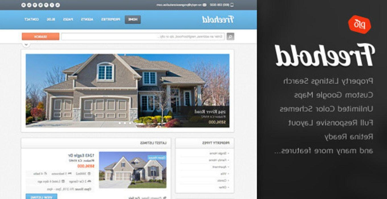 Freehold Responsive Real Estate Theme Free Download