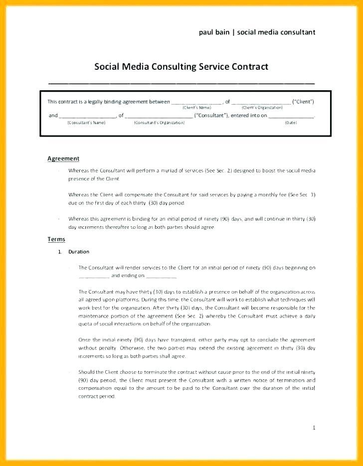 Freelance Contract Template Doc