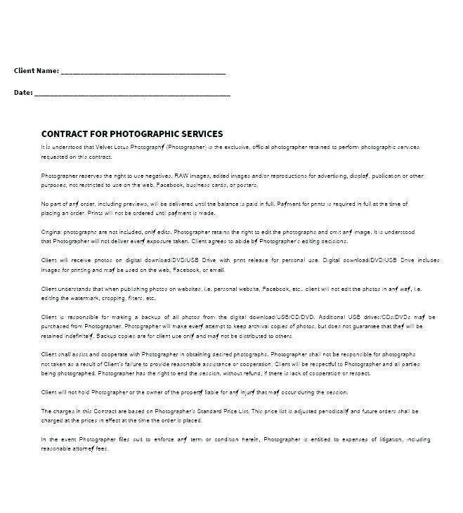 Freelance Contract Templates Free
