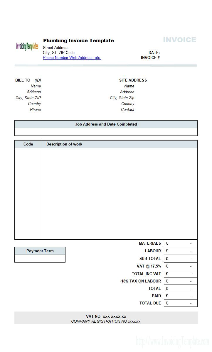 Freelance Invoice Template Nz