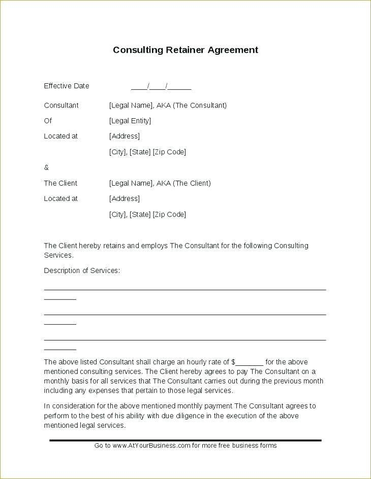 Freelance Retainer Contract Template India