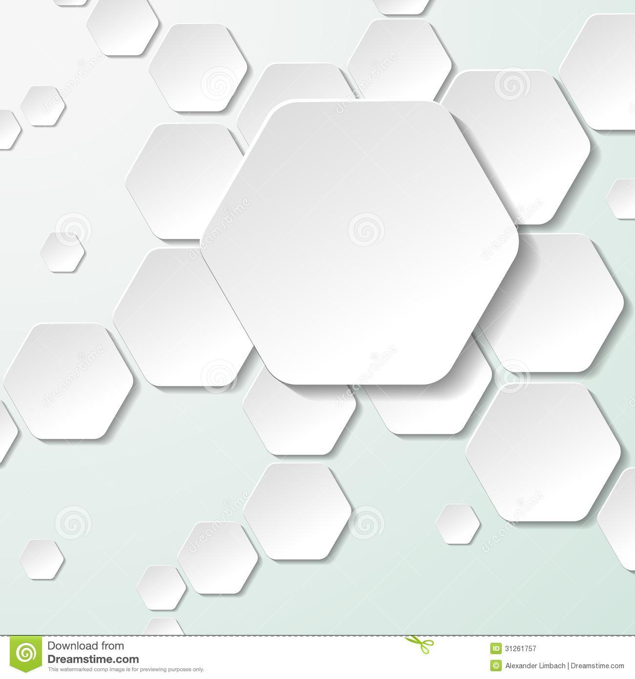 Freezer Paper Hexagon Templates