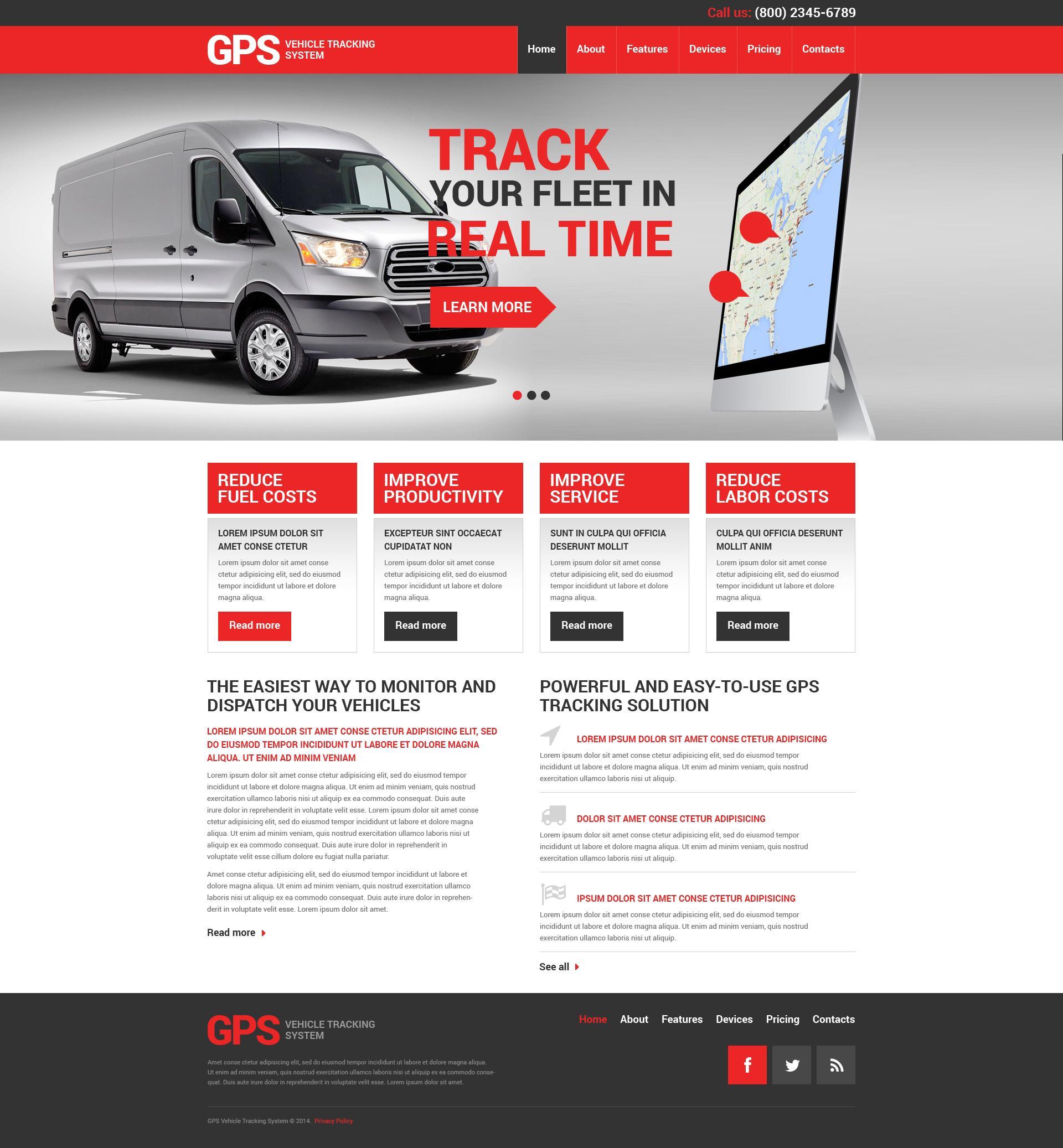 Freight Broker Website Template