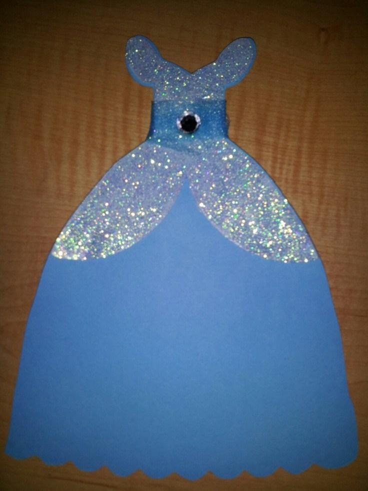 Frozen Dress Invitation Template