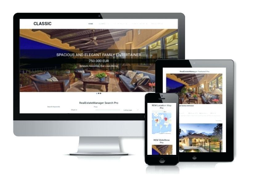 Functional Real Estate Joomla Template