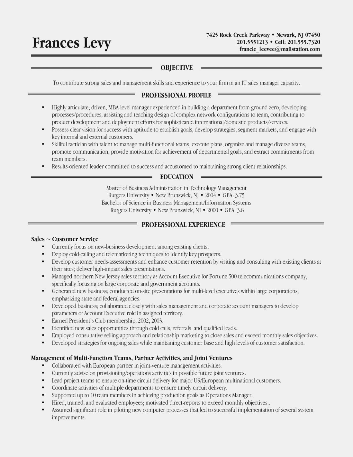 Functional Resume Examples Career Change