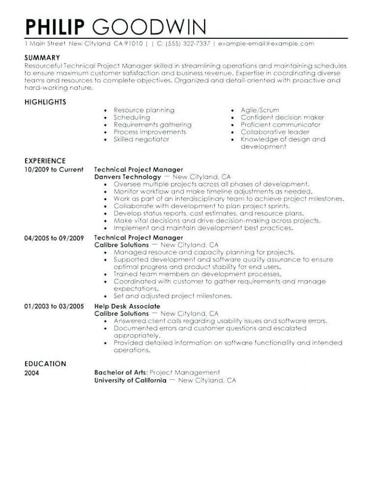 Functional Resume Template 2017 Download