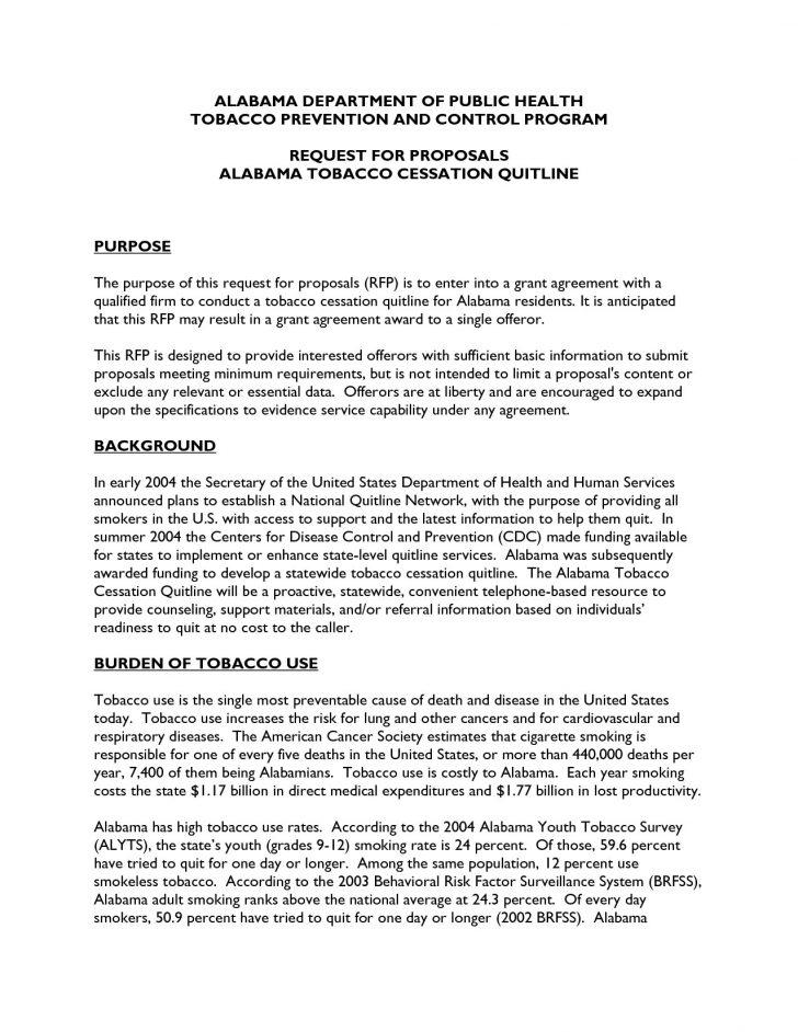 Fundraising Proposal Letter Template