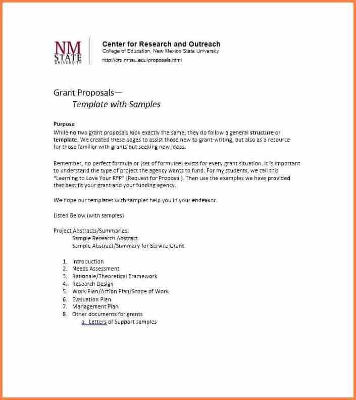 Fundraising Proposal Samples