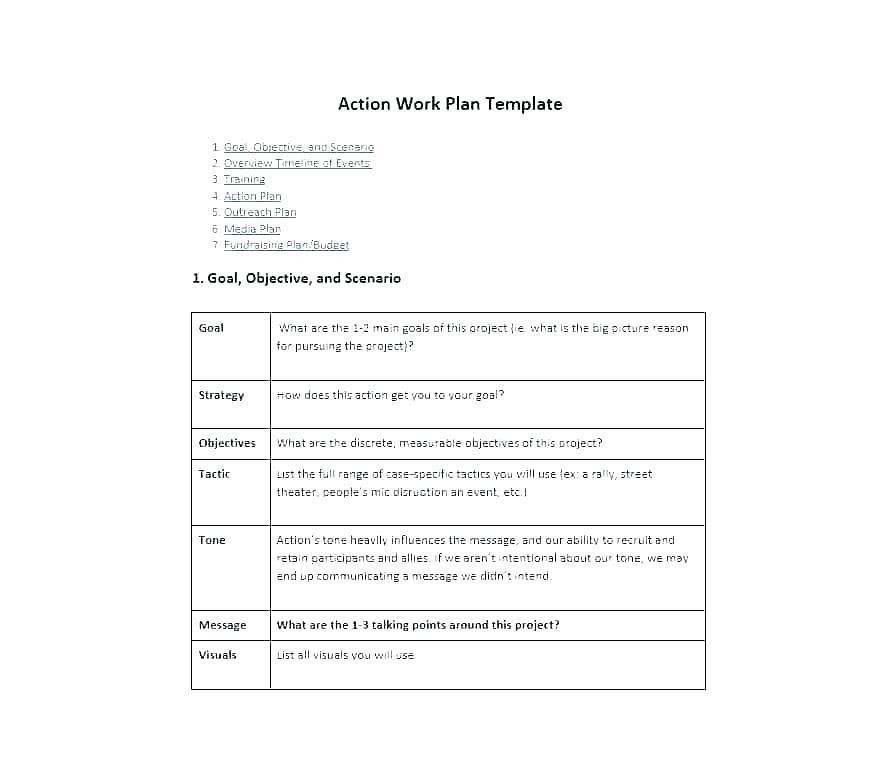 Fundraising Strategic Plan Example