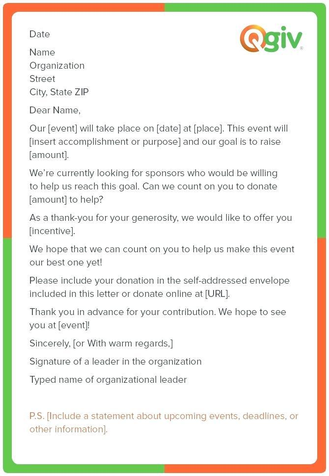 Fundraising Templates Samples