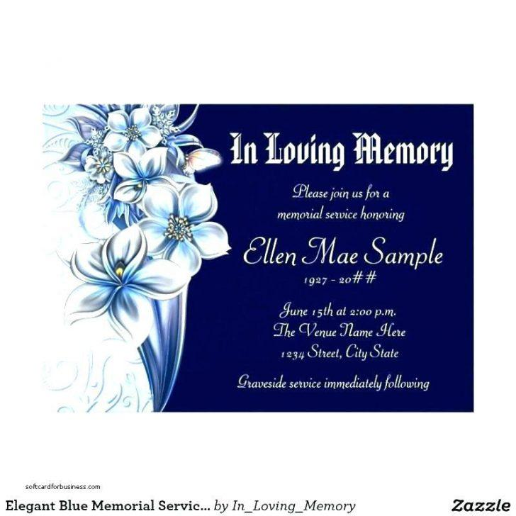 Funeral Invitation Template Online