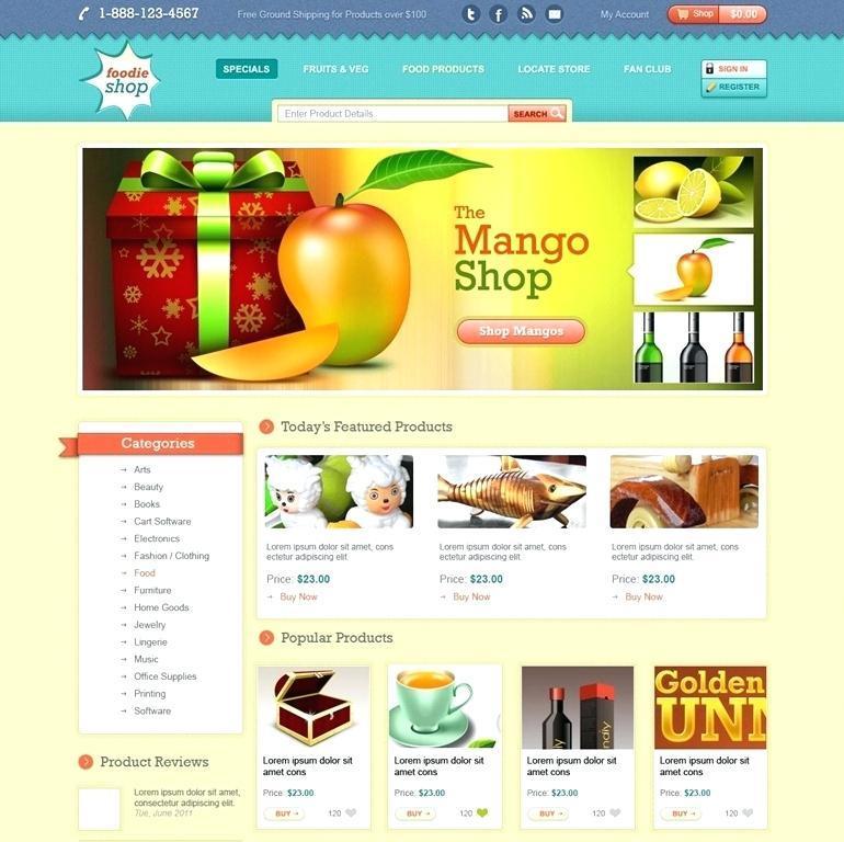 Funky Website Design Templates